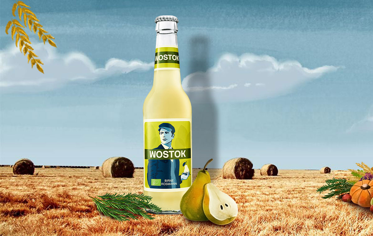 Wostok Birne-Rosmarin (BIO)